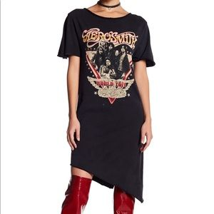 Dresses & Skirts - ELEVENPARIS Aerosmith World Tour T-shirt Dress
